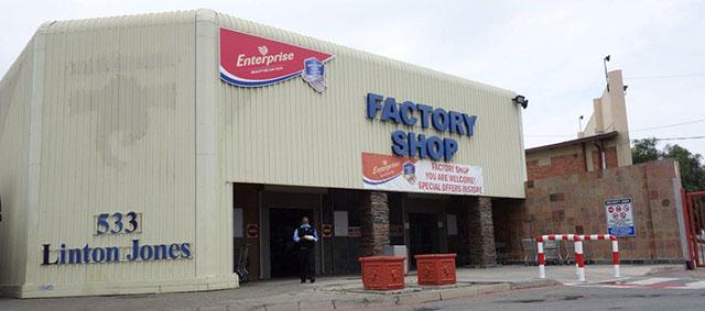 Enterprise Foods Germiston Factory Shop